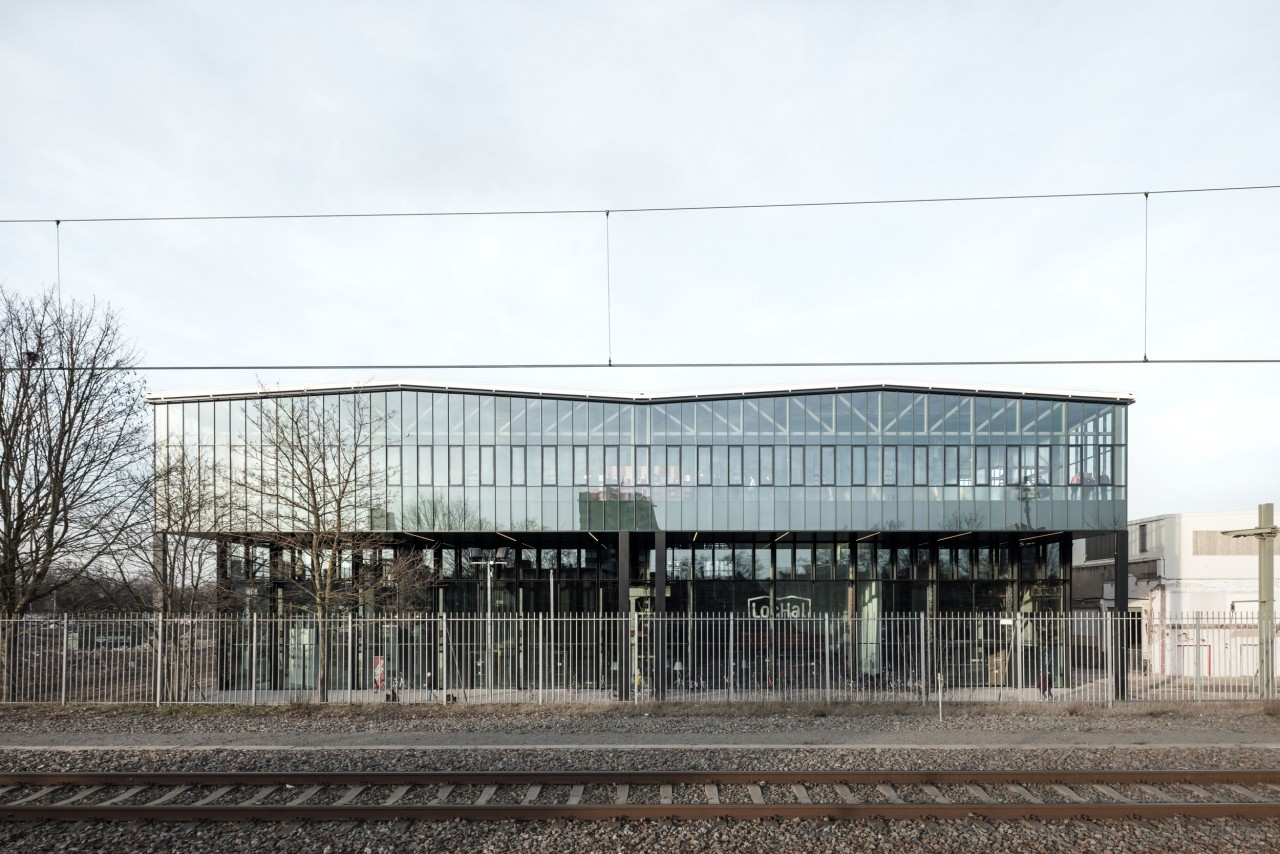 fig: Civic Architects_Lochal Library Tilburg_South Facade