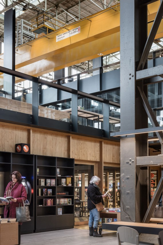fig: Civic Architects_Lochal Library Tilburg_Old and New
