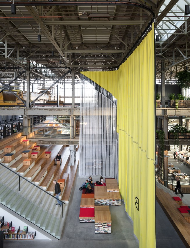 fig: Civic Architects_Lochal Library Tilburg_Curtains