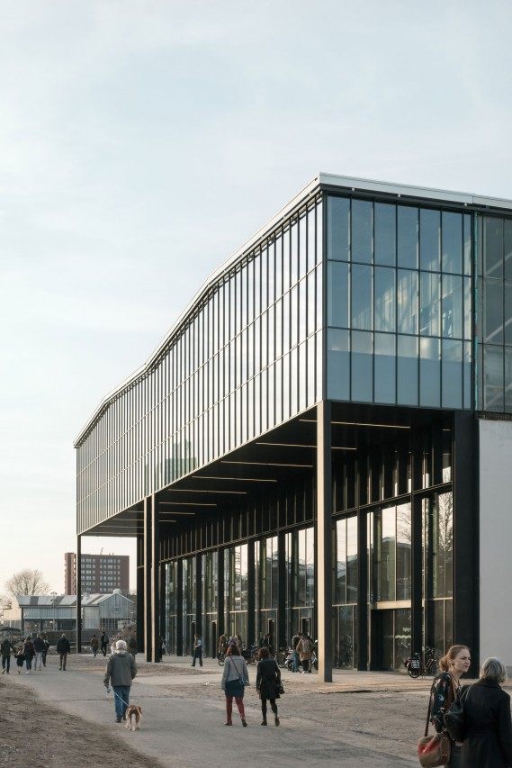 fig: Civic Architects_Lochal Library Tilburg_East Facade