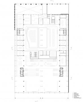 Civic Architects_Lochal Library Tilburg_1st floor