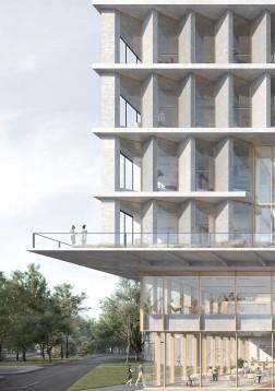 Nieuwbouw ITC Universiteit Twente
